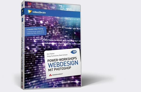 Cover des Video-Workshops Webdesign mit Photoshop